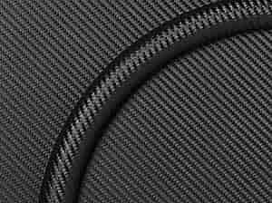 Billet Specialties 28713 Steering Wheel Half Wrap Embossed Carbon