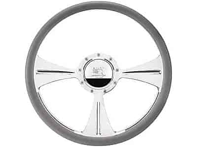 Billet Specialties 34935 - Billet Specialties 15-1/2'' Steering Wheels