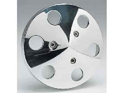 Billet Specialties 6-Hole AC Pulley Cover Sanden 508 compressors