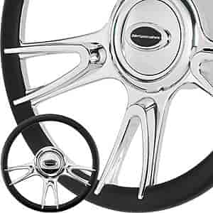 Billet Specialties P30017 - Billet Specialties 14'' Steering Wheels