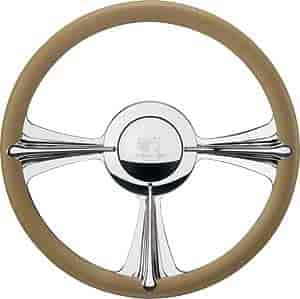 Billet Specialties P30096 - Billet Specialties 14'' Profile Collection Steering Wheels