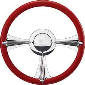 Billet Specialties P30097 - Billet Specialties 14'' Profile Collection Steering Wheels