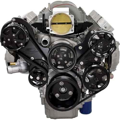 Billet Specialties Blk13450 Tru Trac Ls Engine Top Mount
