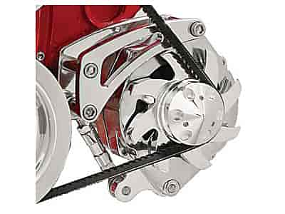 Billet Specialties FM0105PC - Billet Specialties Billet Aluminum Alternator Brackets