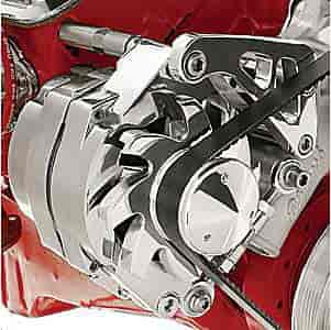 Billet Specialties FM0107PC - Billet Specialties Billet Aluminum Alternator Brackets