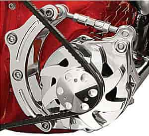 Billet Specialties FM0205PC - Billet Specialties Billet Aluminum Alternator Brackets