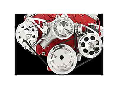 Billet Specialties Serpentine Conversion Kit For Small Block Chevy