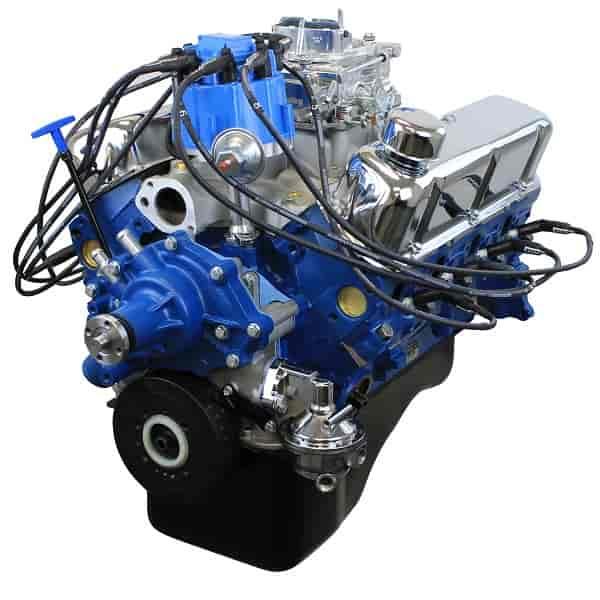 Blueprint Engines Ford Small Block 302ci Dress Crate Engine 235HP 317TQ w/  Cast Iron Heads