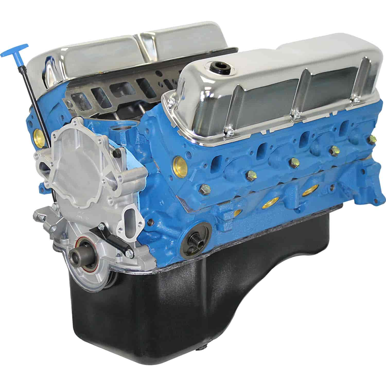 Blueprint Engines Ford Small Block 302ci Base Crate Engine 300HP 336TQ w/  Cast Iron Heads
