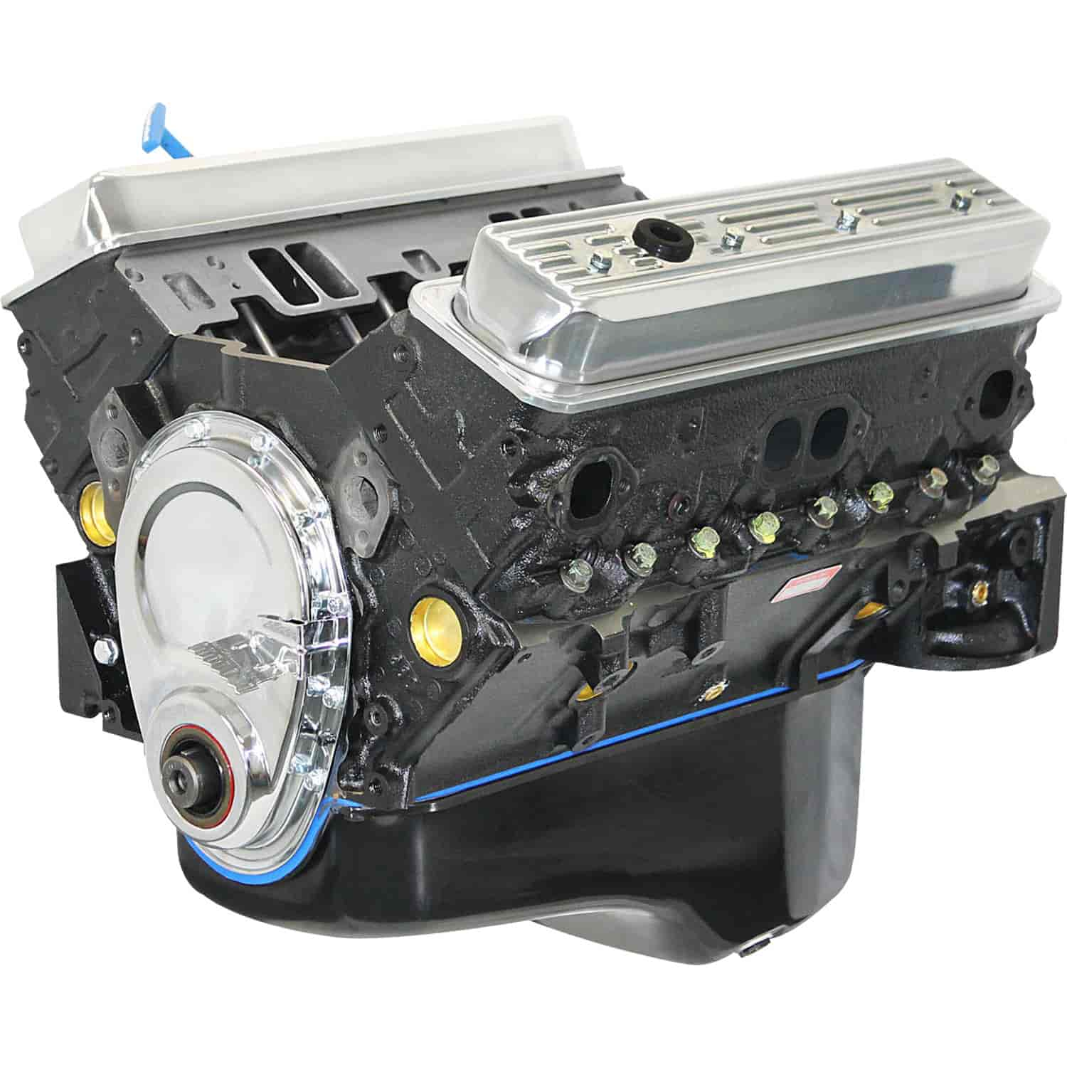 Blueprint Engines Chevy Small Block 350ci Base Crate Engine 373HP 400TQ  w/Vortec Cast Iron Heads