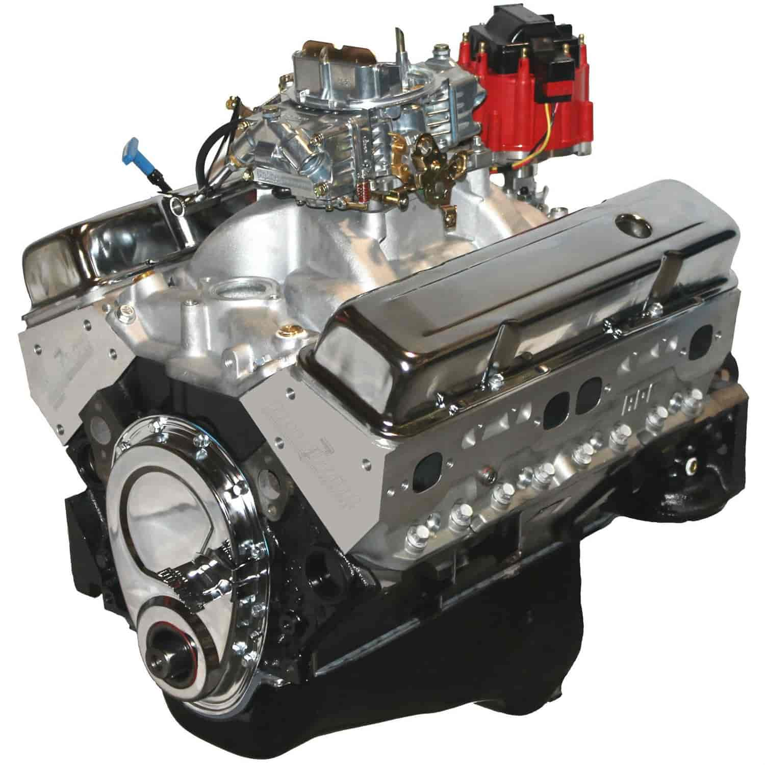 Blueprint Engines BP35512CTC1 - Blueprint Engines Small Block Chevy w/Aluminum Heads 355ci/ 375HP/ 400TQ