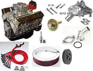 Blueprint Engines BP35512CTC1K - Blueprint Engines Small Block Chevy w/Aluminum Heads 355ci/ 375HP/ 400TQ