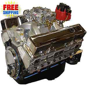 Blueprint Engines BP3834CTC1 - Blueprint Engines Small Block Chevy w/Aluminum Heads 383ci/ 420HP/ 450TQ