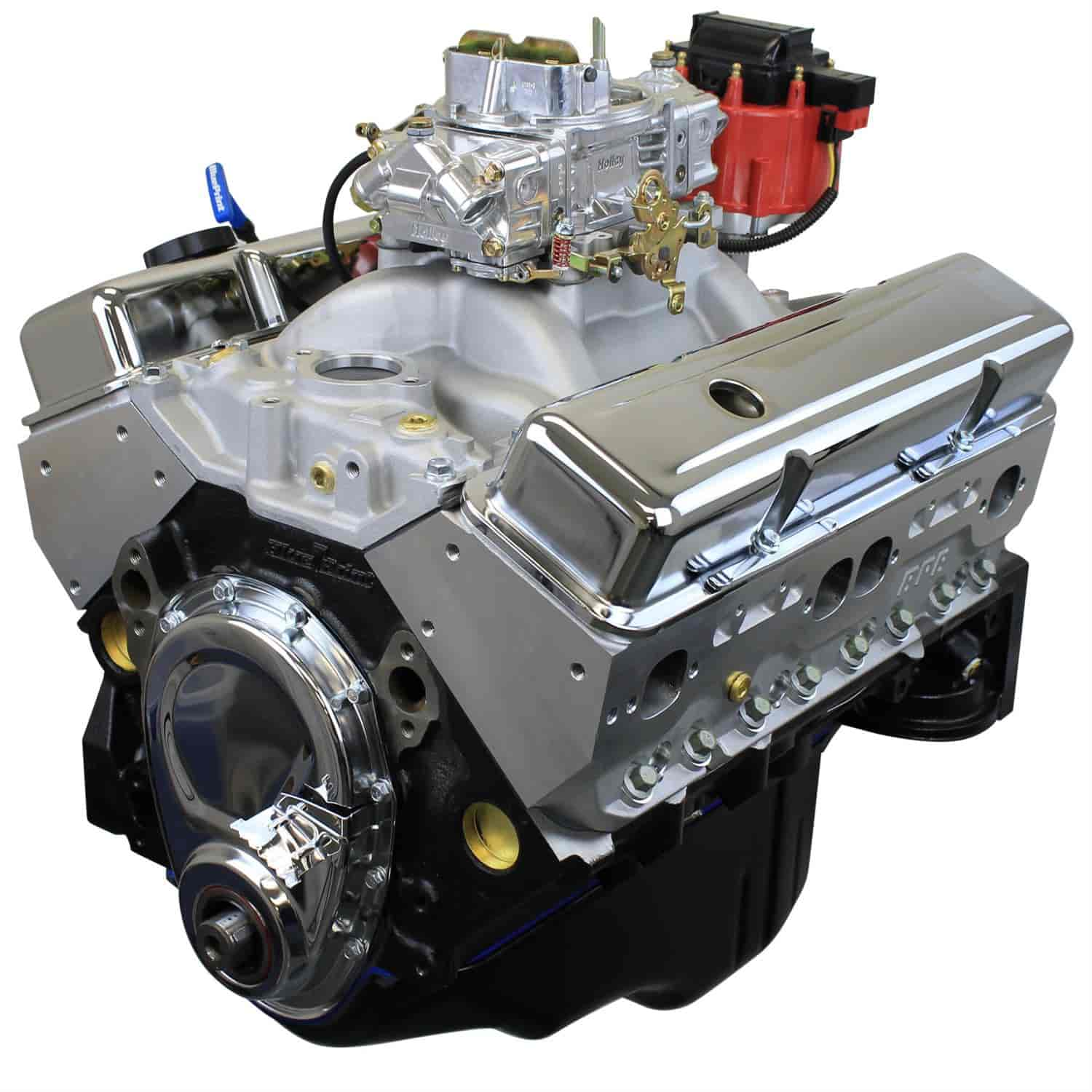 Blueprint Engines BP3961CTC - Blueprint Engines Small Block Chevy 396ci Stroker/ 485HP/ 500TQ