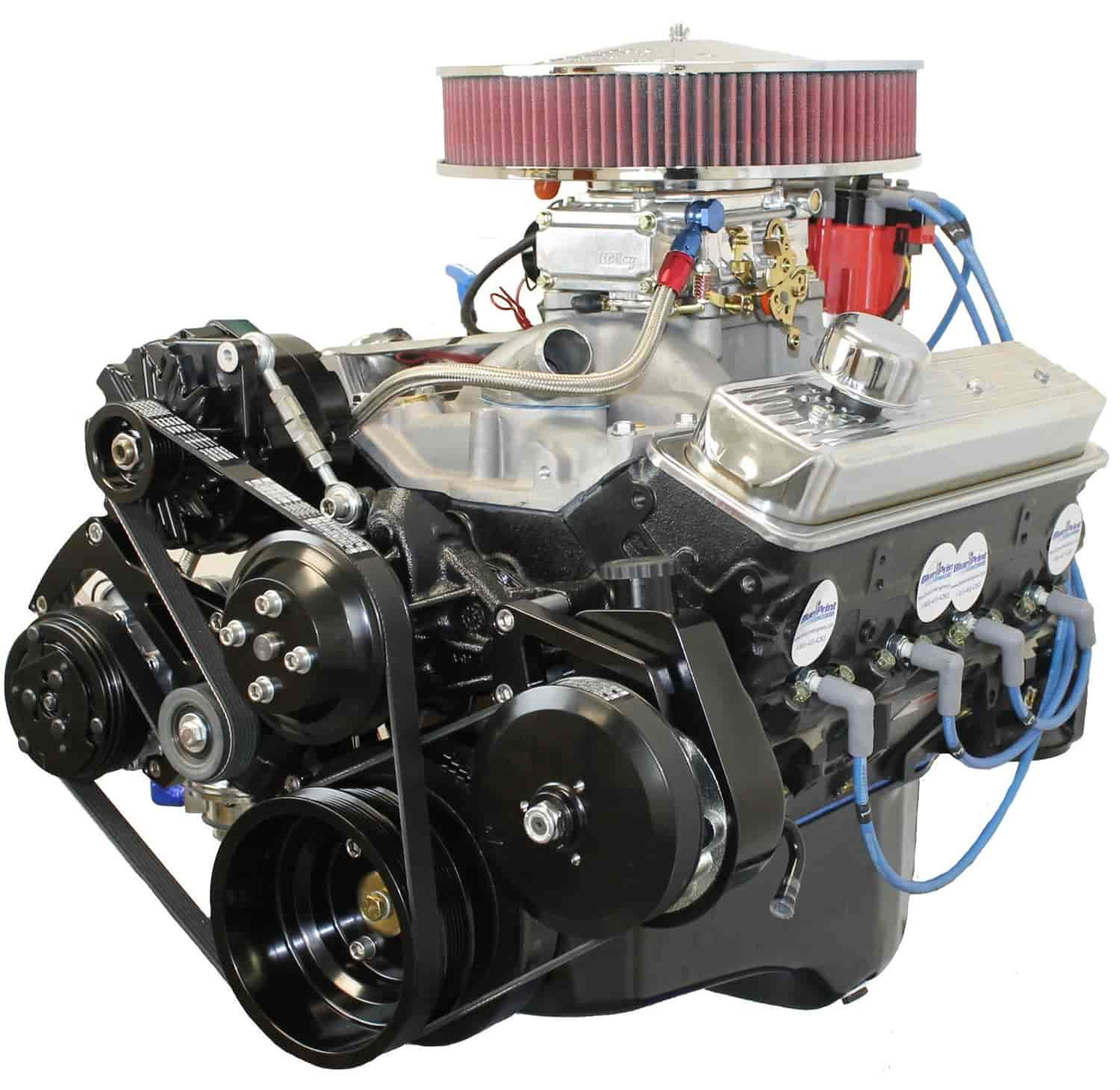 Blueprint engines bp3501ctc1k small block chevy 350ci turnkey blueprint engines bp3501ctc1k malvernweather