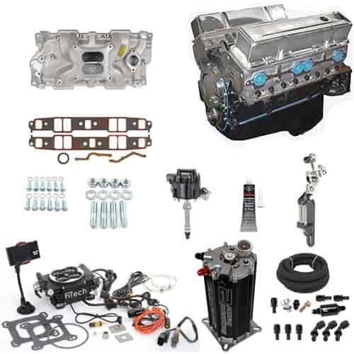 Blueprint Engines Small Block Chevy 383ci Engine With EFI Kit