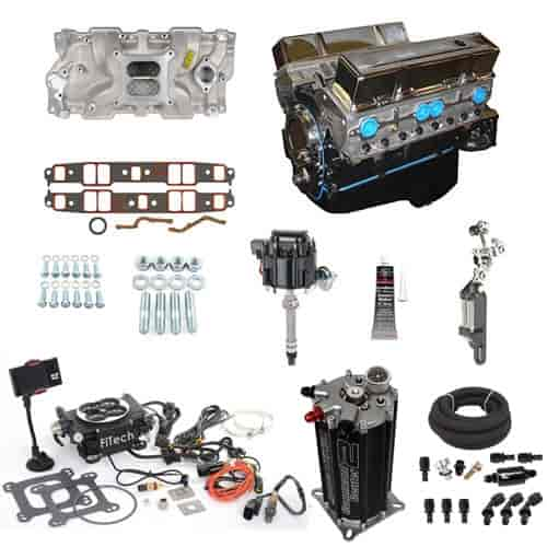 Blueprint engines bp3834ct1k sbc 383ci engine with efi kit jegs blueprint engines bp3834ct1k malvernweather Choice Image