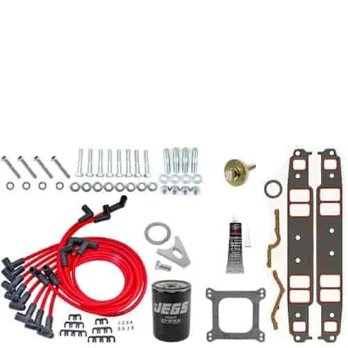 Blueprint engines bp4002ct1k small block chevy 400ci base engine blueprint engines bp4002ct1k malvernweather Choice Image
