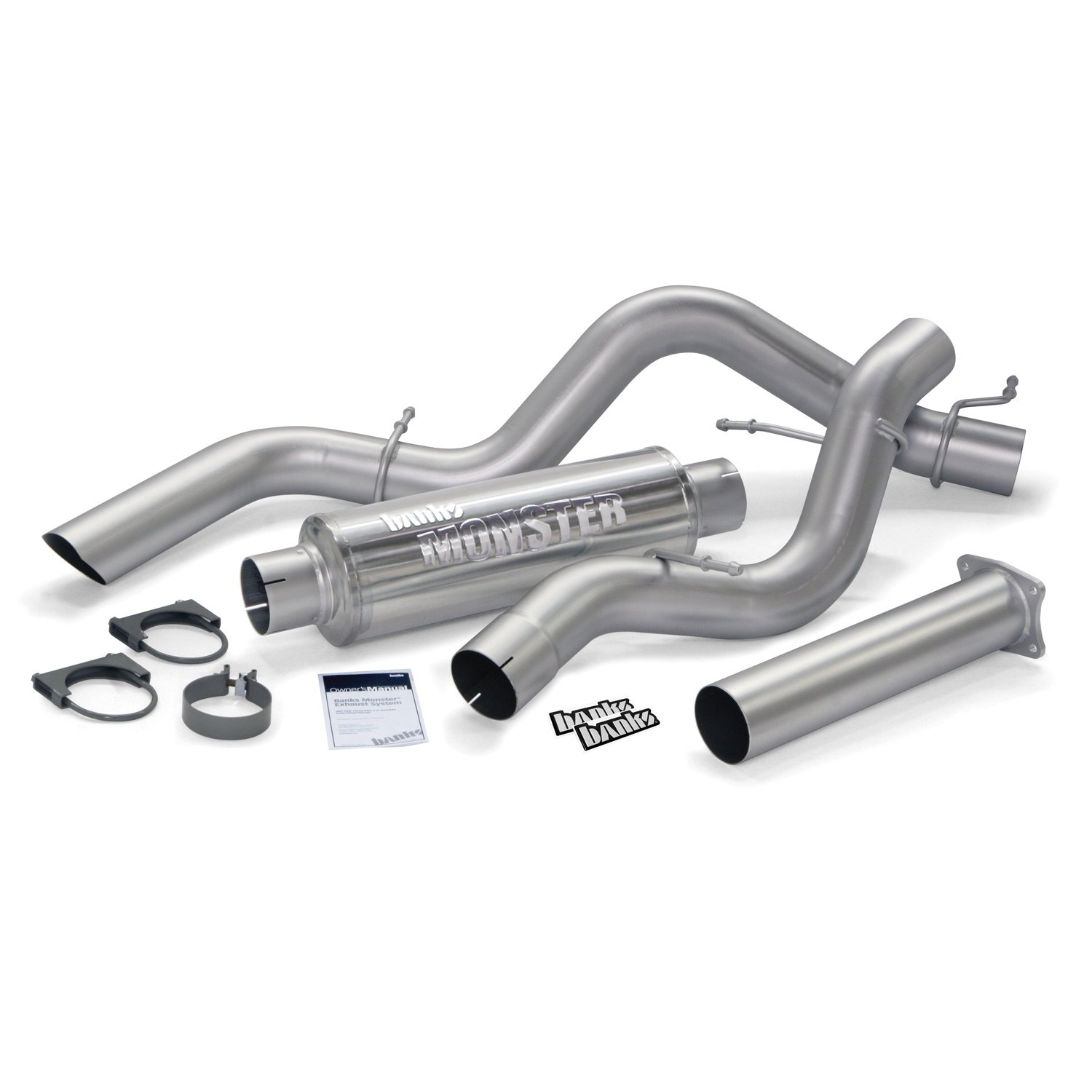 Banks 48789 - Banks Monster Sport Cat Back Exhaust