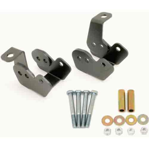 BMR Suspension CAB002H - BMR Suspension Control Arm Relocation Brackets