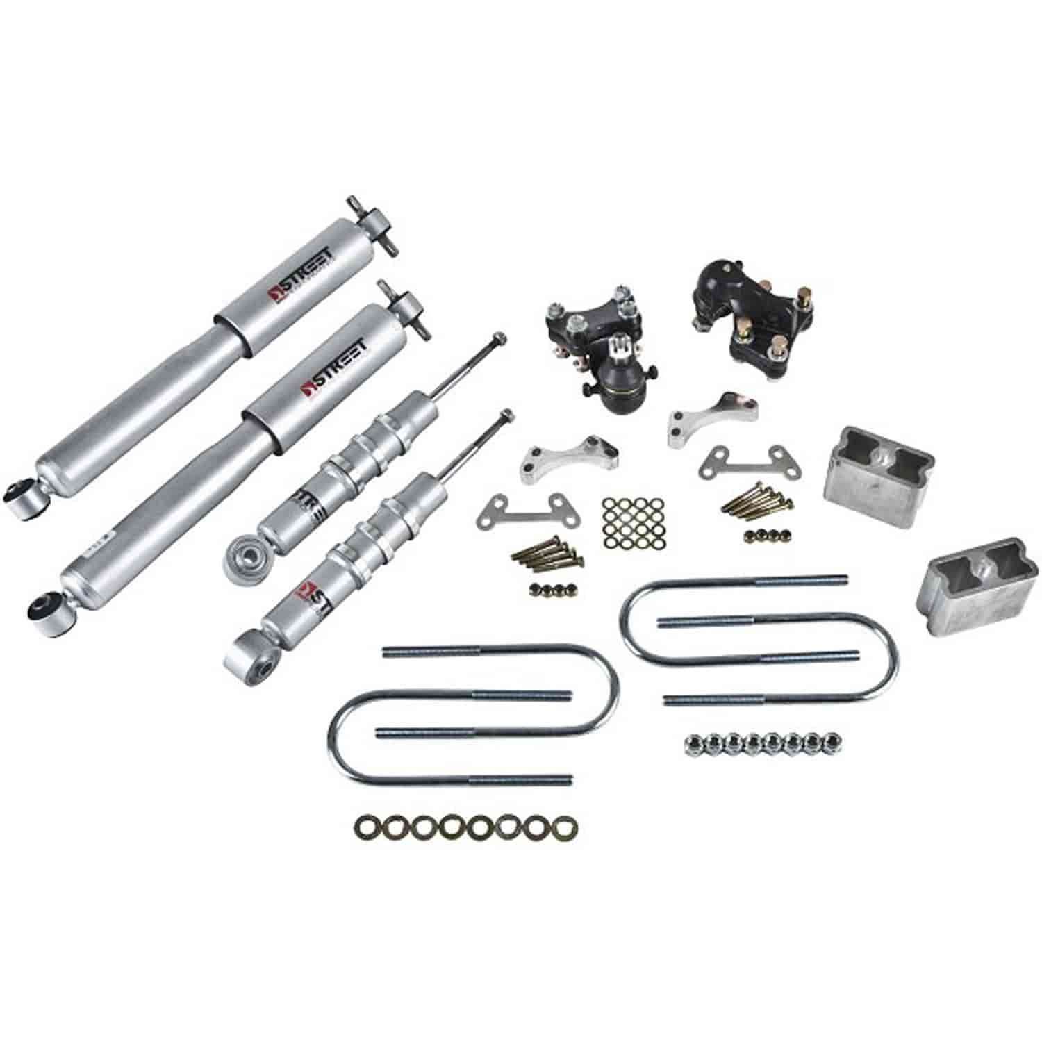 Belltech 603SP: Complete Lowering Kit for 2004-2012 Chevy Colorado/GMC Canyon | JEGS