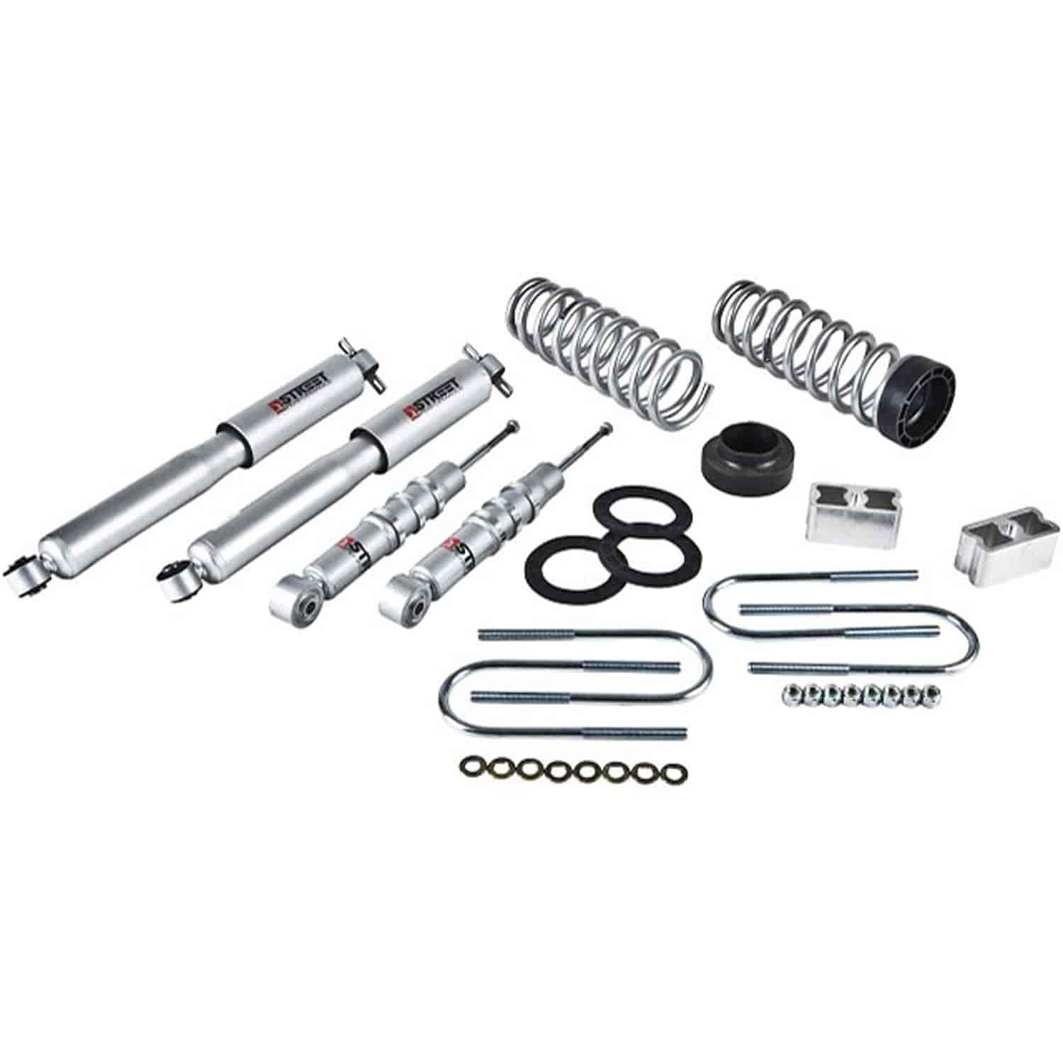 2012 Chevrolet Colorado Regular Cab Head Gasket: Belltech 607SP: Complete Lowering Kit For 2004-2012 Chevy