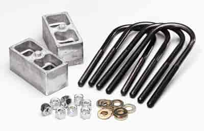 Belltech 6100 Lowering Block Kit For 2 5 Quot To 3 Quot Wide Leaf