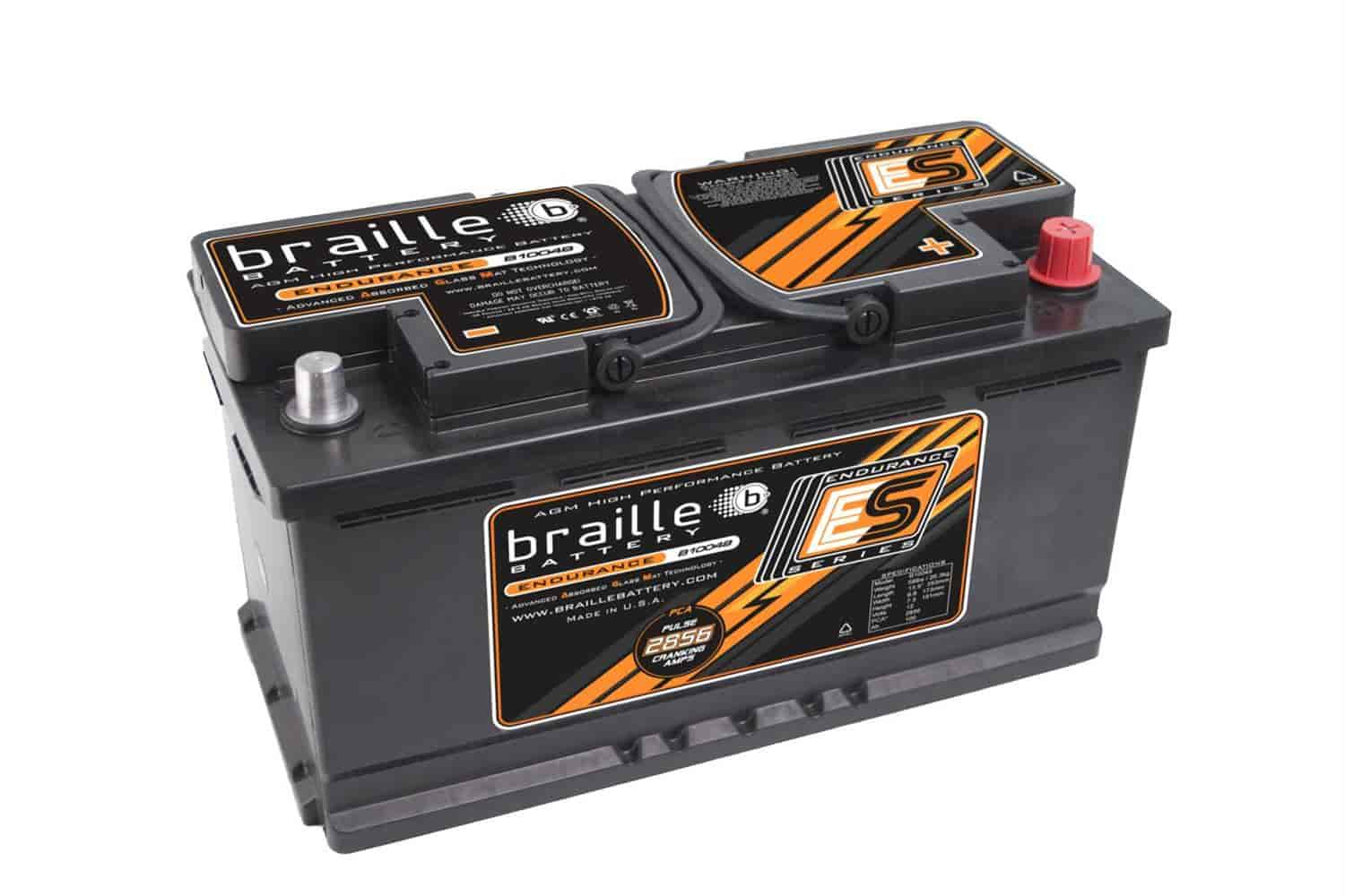 Braille Battery B10049 - Braille Endurance Series Batteries