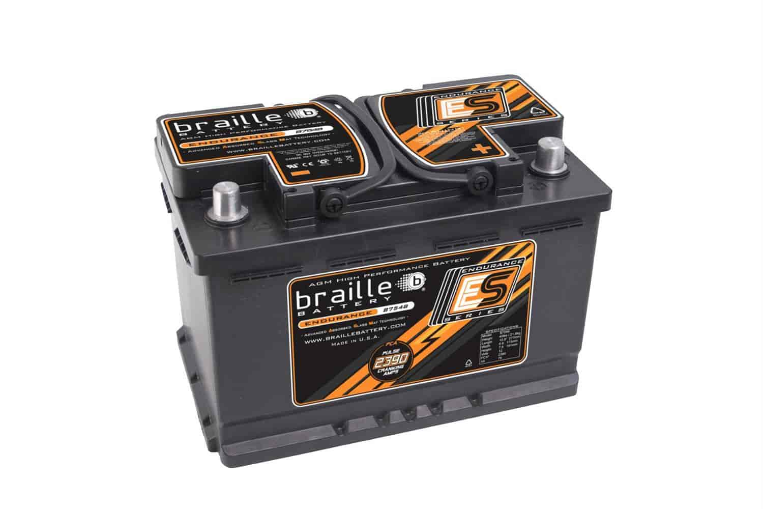 Braille Battery B7548 - Braille Endurance Series Batteries