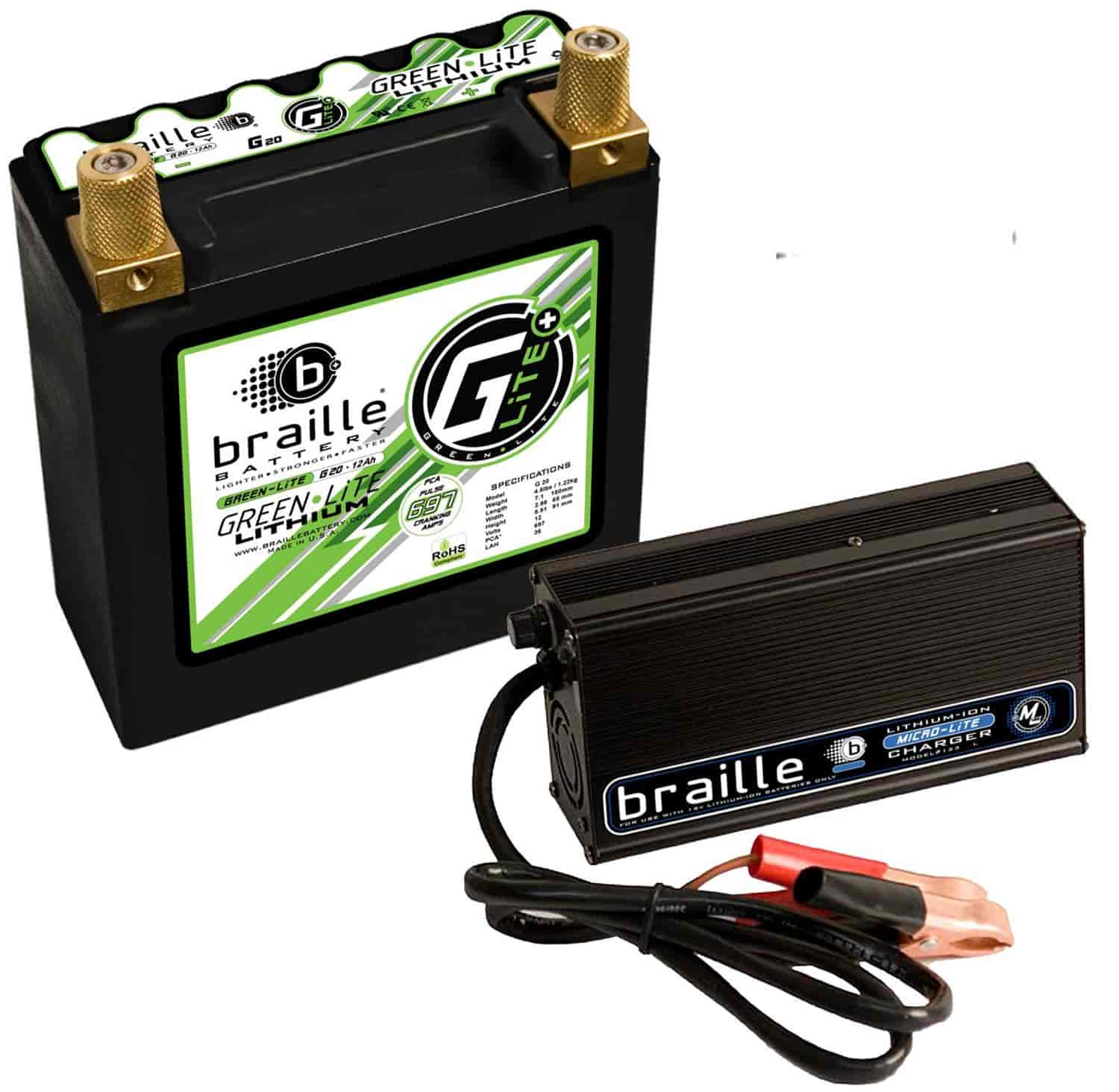 Braille Battery G20C