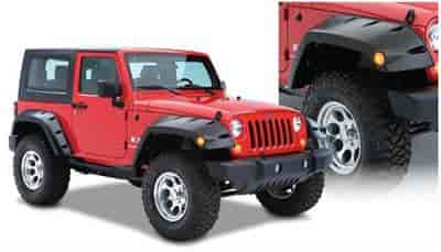Bushwacker Body Gear 10045-02 - Bushwacker Fender Flares For Jeeps