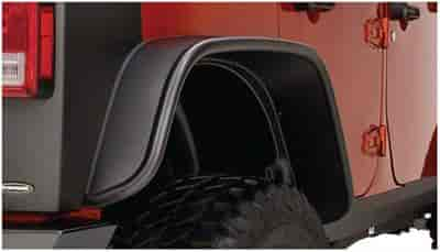 Bushwacker Body Gear 10050-07 - Bushwacker Fender Flares for Jeep