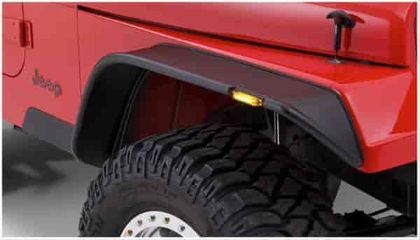 Bushwacker Body Gear 10067-07 - Bushwacker Fender Flares for Jeep