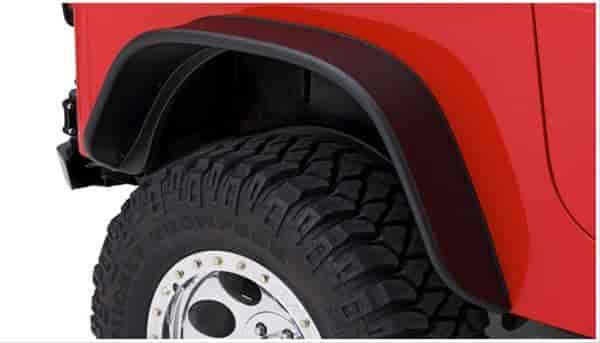 Bushwacker Body Gear 10068-07 - Bushwacker Fender Flares for Jeep