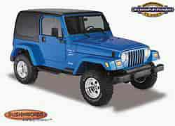 Bushwacker Body Gear 10906-02 - Bushwacker Fender Flares for Jeep