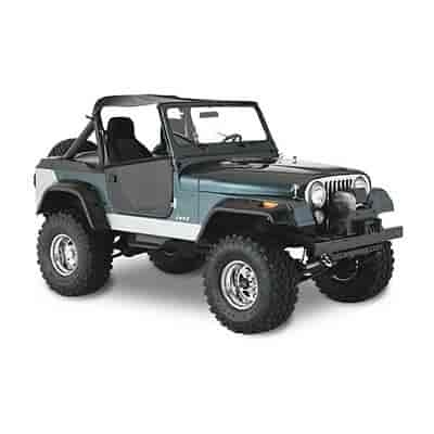 Bushwacker Body Gear 10060-07 - Bushwacker Fender Flares For Jeeps