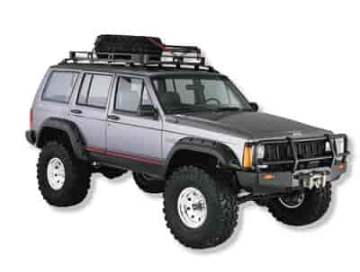 Bushwacker Body Gear 10911-07 - Bushwacker Cut-Out Fender Flares
