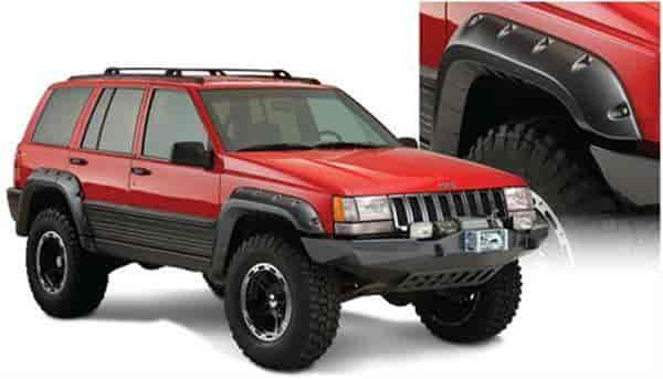 Bushwacker Body Gear 10916-07 - Bushwacker Fender Flares for Jeep
