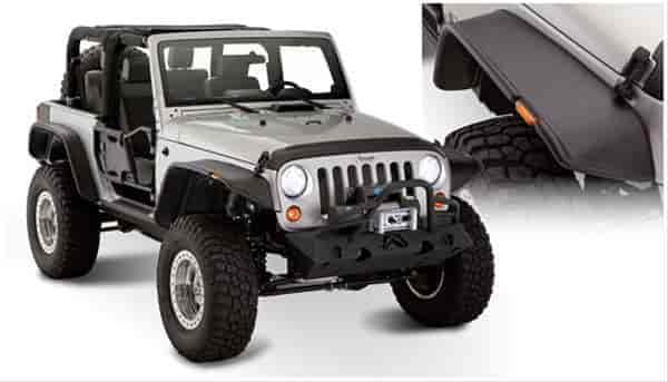 Bushwacker Body Gear 10919-07 - Bushwacker Fender Flares For Jeeps