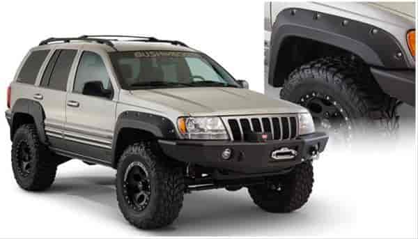 Bushwacker Body Gear 10926-07 - Bushwacker Fender Flares for Jeep
