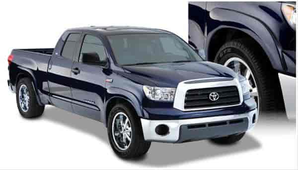Bushwacker Body Gear 30909 02 Oe Style Fender Flares 2007 13 Toyota Tundra With Factory Mudflaps Jegs