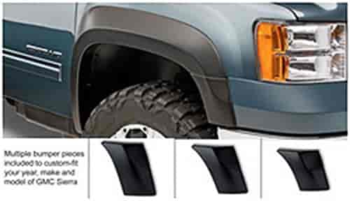Bushwacker Body Gear 40107-02 - Bushwacker Extend-A-Fender Flares