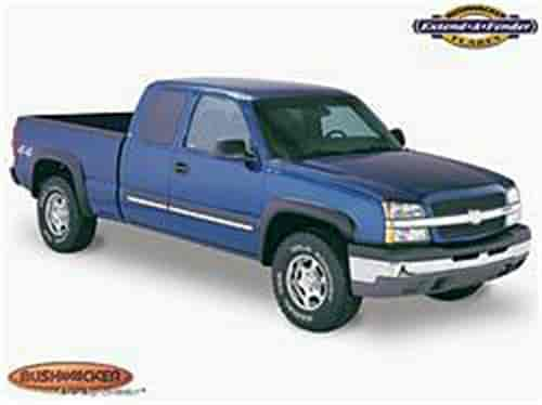 Bushwacker Body Gear 40916-02 - Bushwacker Extend-A-Fender Flares