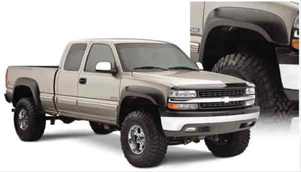 Bushwacker Body Gear 40945-02 - Bushwacker Extend-A-Fender Flares