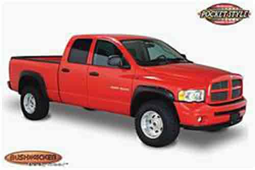 Bushwacker Body Gear 50907-02 - Bushwacker Pocket-Style Fender Flares