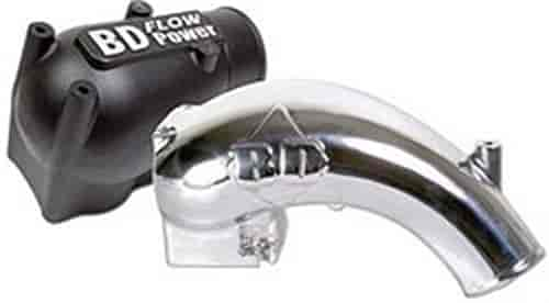 BD Diesel 1041550 - BD Diesel Performance X-Flow Power Intake Elbows