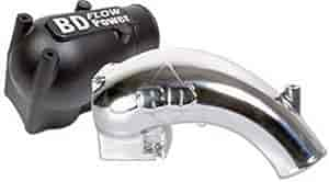 BD Diesel 1041577-P - BD Diesel Performance X-Flow Power Intake Elbows