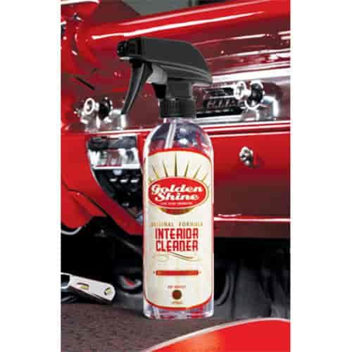 golden shine 41016 car interior cleaner 16oz jegs. Black Bedroom Furniture Sets. Home Design Ideas
