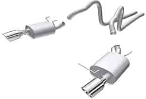 Borla 140375 - Borla Ford Car Stainless Steel Cat-Back Exhaust Systems