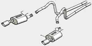 Borla 140376 - Borla Ford Car Stainless Steel Cat-Back Exhaust Systems